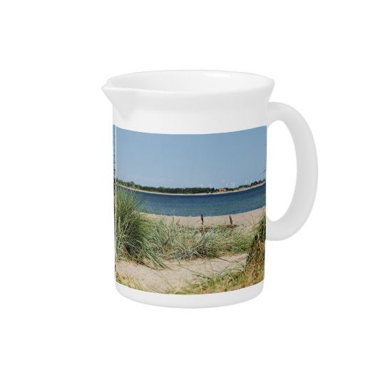 Pit Cher beach with dunes Drink Pitchers