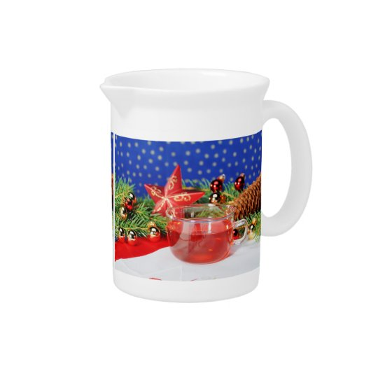 Pit Cher Christmas Drink Pitchers