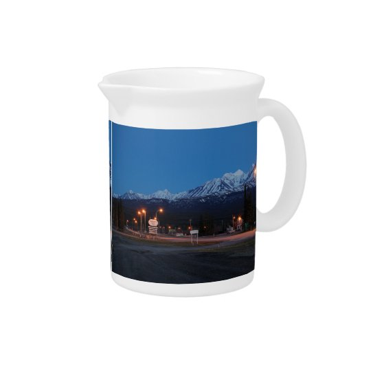 Pit Cher Haines Junction blue hour Drink Pitcher