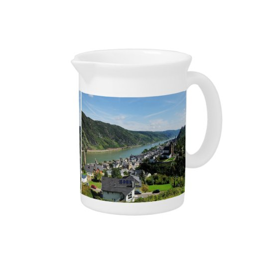 Pit Cher Oberwesel in the central Rhine Valley Pitcher