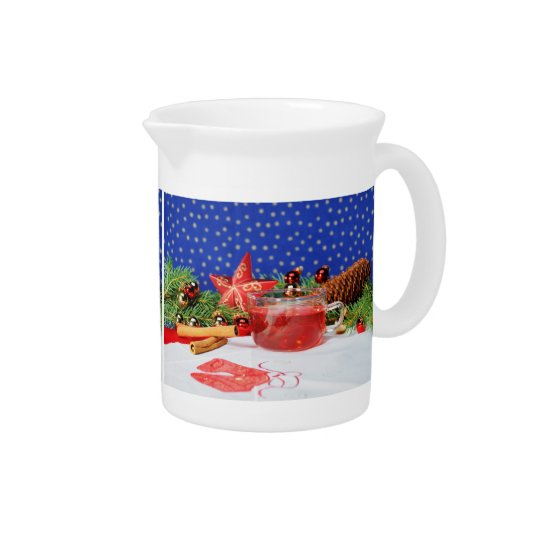 Pit Cher with motive for Christmas Pitcher