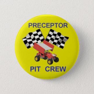 pit crew 2 inch round button