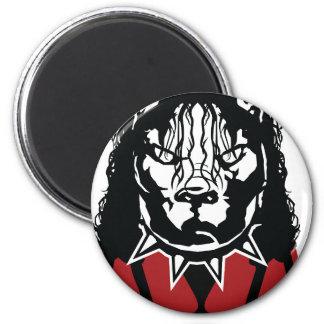 pit jackson design cute 2 inch round magnet