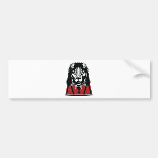 pit jackson design cute bumper sticker
