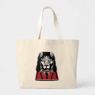 pit jackson design cute large tote bag