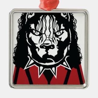pit jackson design cute metal ornament
