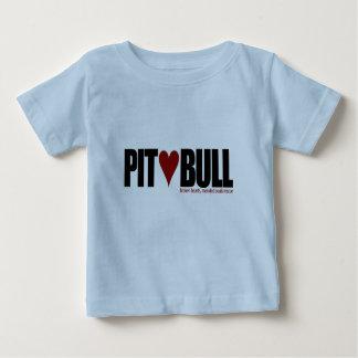Pit (Love) Bull Baby T-Shirt