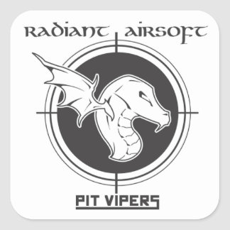 Pit Vipers Airsoft sticker