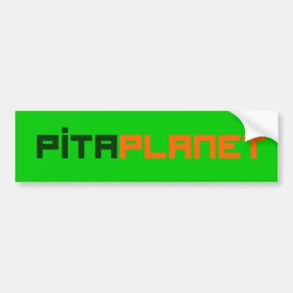 Pita Planet Font (GO) Bumper Sticker