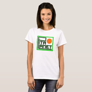 Pita Planet Main (Orange Planet) T-Shirt