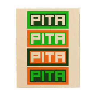 Pita Quattro Wood Print