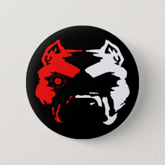Pitbull 2 Inch Round Button