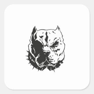 pitbull.ai square sticker
