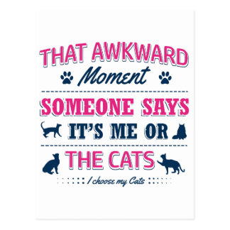 Pitbull Awkward moment Postcard