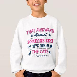 Pitbull Awkward moment Sweatshirt