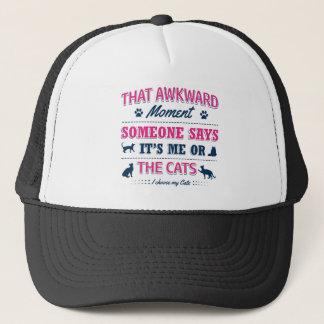 Pitbull Awkward moment Trucker Hat