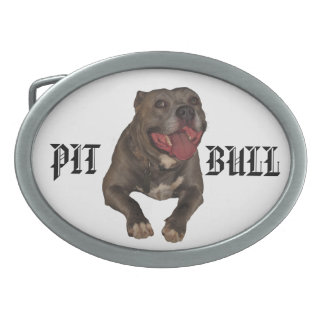 Pitbull Belt Buckle