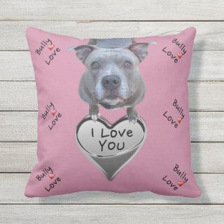 Pitbull Bully Love Pillow