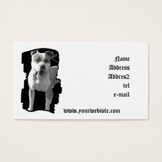 Pitbull Business card