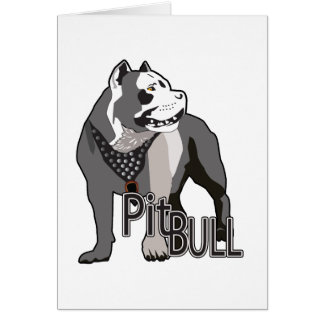 Pitbull Greeting Cards