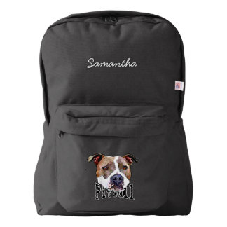 Pitbull Dog Backpack