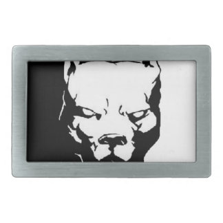 Pitbull Dog Belt Buckle