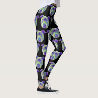 Pitbull  dog sport leggings