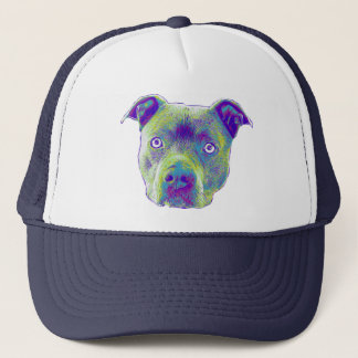 Pitbull Dog trucker hat