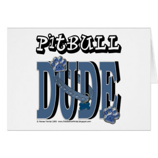 Pitbull DUDE Cards