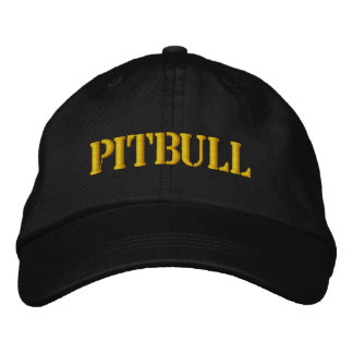 PITBULL EMBROIDERED HAT