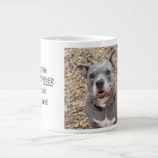 Pitbull Fever Jumbo Mug
