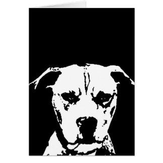 Pitbull Gifts - Card