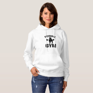 Pitbull Gym  Dog Funny Pet puppy Gifts Hoodie