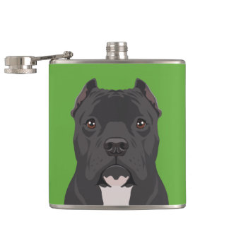 Pitbull Hip Flask
