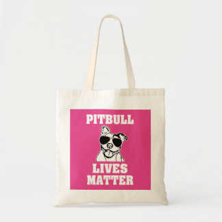Pitbull Lives Matter funny Bully bag