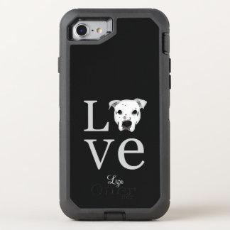 Pitbull Love OtterBox Defender iPhone 7 Case