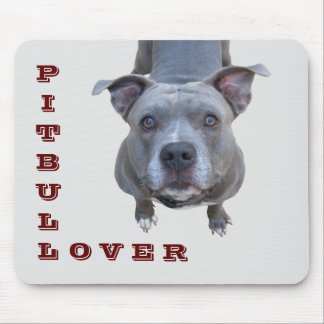 Pitbull Lover Mousepad