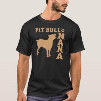 PitBull Mama, 2 gold T-Shirt