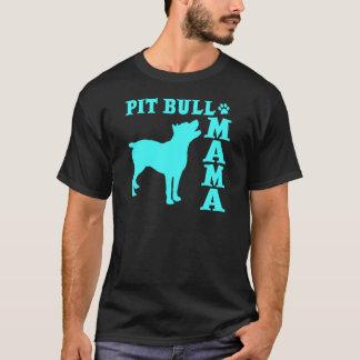 PitBull Mama, 2blue T-Shirt