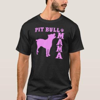 PitBull Mama, pink T-Shirt