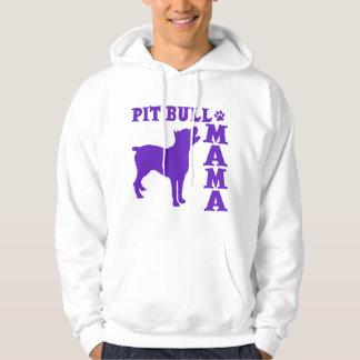 PitBull Mama, purple Hoodie