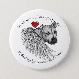 Pitbull Memorial Button