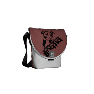 Pitbull Messenger Bag
