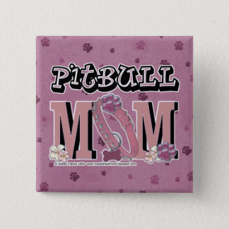 Pitbull MOM 2 Inch Square Button