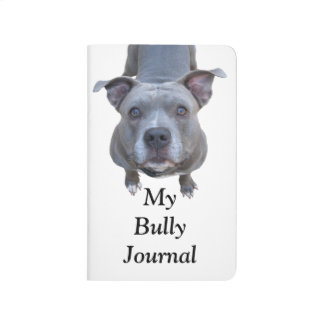 Pitbull My Bully Pocket Journal