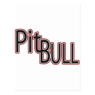PITBULL POST CARDS
