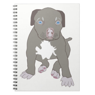 Pitbull Puppy Notebooks