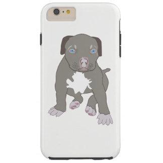 Pitbull Puppy Tough iPhone 6 Plus Case
