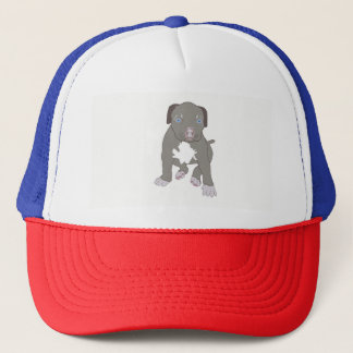 Pitbull Puppy Trucker Hat