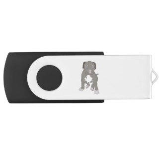 Pitbull Puppy USB Flash Drive